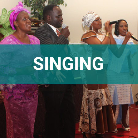 singing ministry